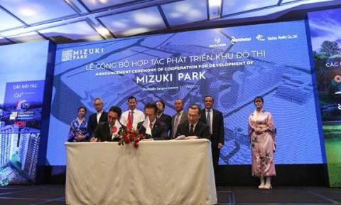 Nam Long cùng 2 đối tác Nhật Bản phát triển dự án Mizuki Park
