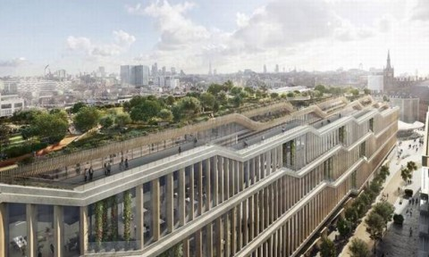 Google ra mắt tòa nhà xanh khổng lồ ở London