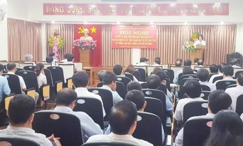 Đảng ủy Khối cơ sở Bộ Xây dựng sơ kết một năm thực hiện Chỉ thị 05 của Bộ Chính trị
