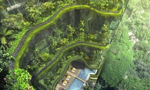 Kiến trúc xanh hạ nhiệt cho đô thị