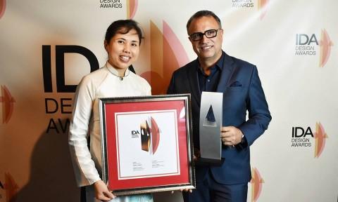 02 tác phẩm của Việt Nam đạt giải thưởng Thiết kế Quốc tế tại Mỹ