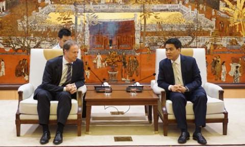 Hà Nội mong muốn hợp tác với EU xây dựng thành phố thông minh