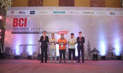 Dulux Professsional đến từ Akzonobel đồng hành cùng giải thưởng BCI Asia 2017