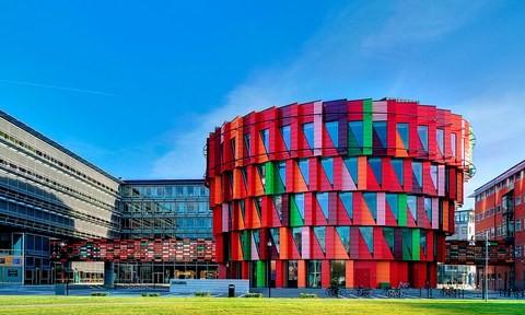 13 công trình kiến trúc có màu sắc độc đáo nhất thế giới