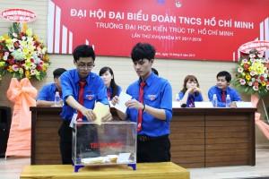 Đại hội đại biểu Đoàn TNCS Hồ Chí Minh trường Đại học Kiến trúc TP.HCM lần thứ XVII, nhiệm kỳ 2017 – 2019