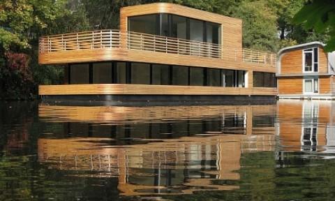 Kiến trúc nhà thuyền mới lạ và tiện nghi