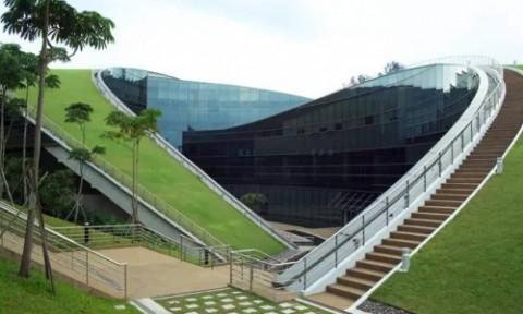 Kiến trúc xanh tuyệt vời của ngôi trường danh tiếng bậc nhất Châu Á