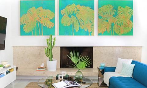 Nhà dịu mát với phong cách nhiệt đới