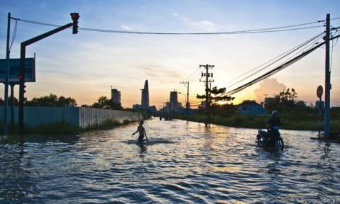 Đô thị thích ứng với lũ lụt: Giải pháp sống chung với lũ cho thiết kế đô thị tại TPHCM
