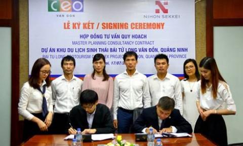 Nihon Sekkei tư vấn quy hoạch dự án BĐS nghỉ dưỡng tại Vân Đồn, Quảng Ninh