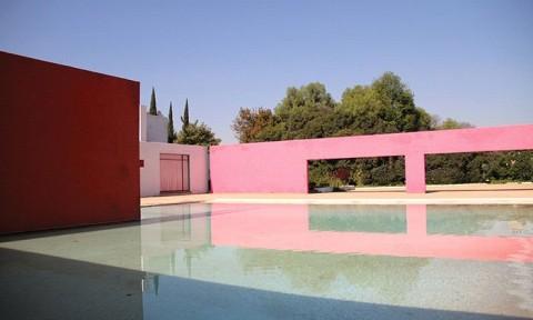 Sắc hồng trong kiến trúc thế giới