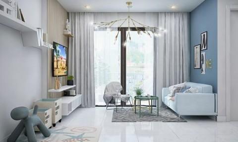 Thiết kế căn hộ Sài Gòn chỉ nhìn đã thấy mát