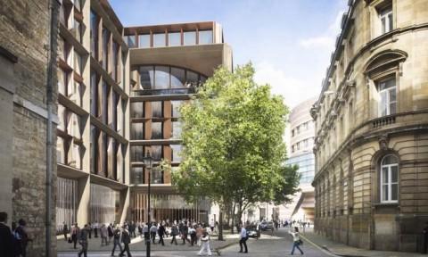 Trụ sở mới của Bloomberg ở London ưu tiên tính bền vững