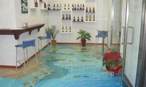 Thiết kế sàn nhà 3D tuyệt đẹp