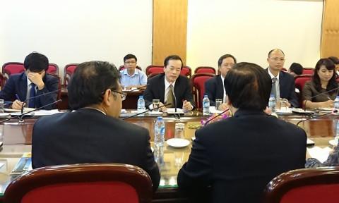 Nhật Bản mong muốn hợp tác với Việt Nam trong lĩnh vực thoát nước và xử lý nước thải