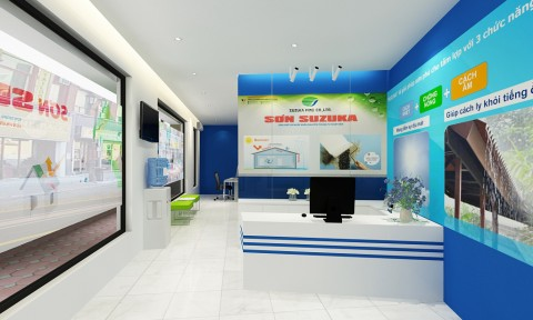 SUZUKA Nhật Bản sẽ khai trương showroom sơn nhập khẩu cao cấp đầu tiên tại Hà Nội
