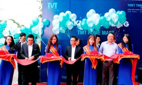 Khai trương siêu thị vật liệu xây nhà TMT Home Mart
