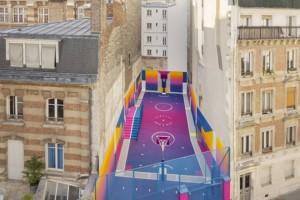 Duperré – Sân bóng rổ đẹp và độc nhất tại Paris