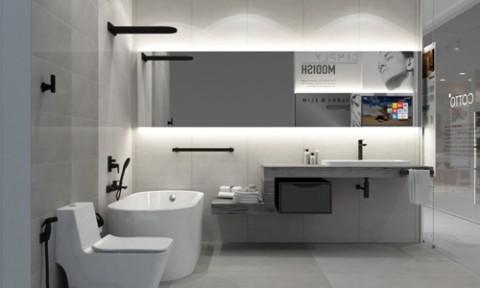 Bộ sưu tập nội thất phòng tắm tối giản của Cotto