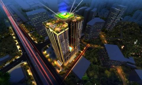 """""""Bất động sản quý tộc"""" gây ấn tượng mạnh tại Hà Nội"""