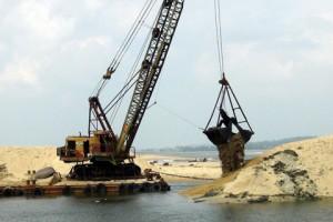 Tăng cường quản lý hoạt động khai thác cát, sỏi