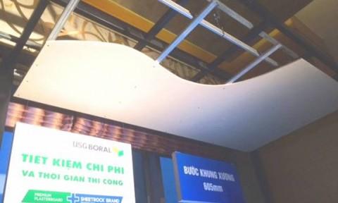 Mua tấm thạch cao Sheetrock® Firebloc được bảo hiểm cháy nổ 1 tỷ đồng