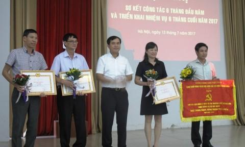 Đảng bộ Bộ Xây dựng triển khai công tác 6 tháng cuối năm 2017