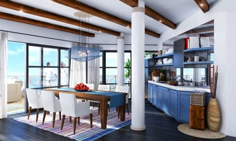Daewon – Thủ Đức xây tổ hợp biệt thự lấy cảm hứng từ Santorini