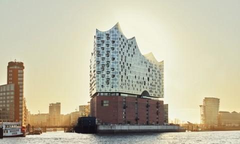 Ngắm nhìn nhà hát Hamburg