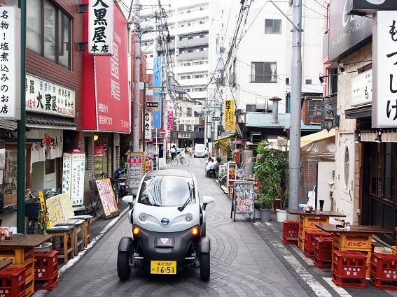 Mô hình thí điểm xe ô tô thông minh dùng chung tại TP thông minh Yokohama (Nhật Bản)