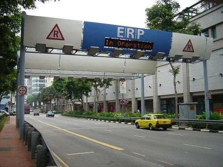 Hệ thống thu phí giao thông thông minh ERP tại Singapore
