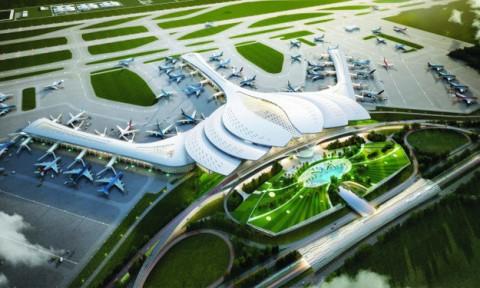 Hoàn thiện phương án thiết kế kiến trúc sân bay Long Thành