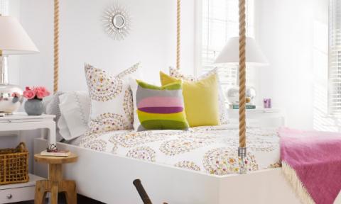 Giường treo – Xu hướng thiết kế nổi bật trong 2017