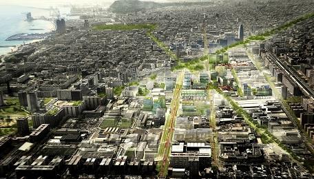 Mô hình quy hoạch khu đô thị đại học thông minh Barcelona Smart City Campus (Tây Ban Nha)