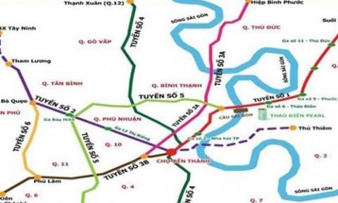 Lập hội đồng thẩm định tuyến metro 41 nghìn tỷ tại TP.HCM
