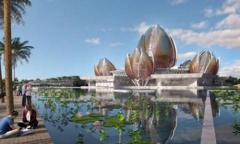 Kiến trúc hoa sen khiến sân bay Long Thành 'tăng chi phí'