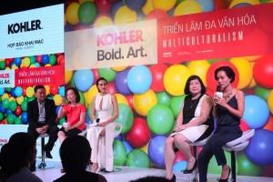 """Triển lãm nghệ thuật KOHLER Bold. Art. với chủ đề """"Đa văn hóa"""""""