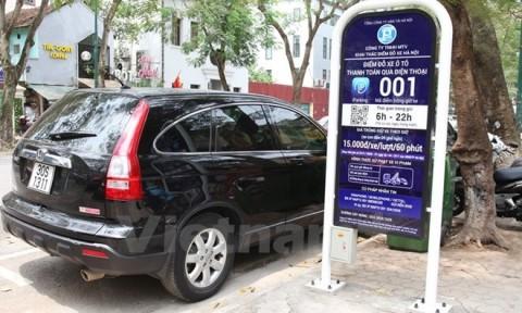 Hà Nội sẽ có thêm 118 điểm và 9 tuyến phố trông xe qua điện thoại
