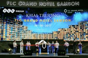 Tập đoàn FLC chính thức khai trương FLC Grand Hotel Samson