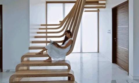 10 thiết kế cầu thang độc đáo từ những vật liệu đẹp