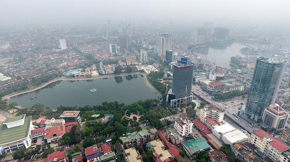 Không gian hồ Thành Công (Ba Đình, Hà Nội) từng bị đề xuất thu hẹp để xây dựng dự án cao tầng phục vụ cải tạo khu chung cư cũ theo đề xuất của doanh nghiệp