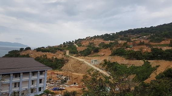 Dự án xây dựng khu khách sạn lưu trú làm phá vỡ cảnh quan và môi sinh đặc hữu của Sơn Trà