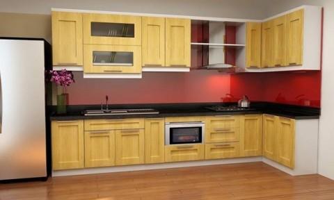 Lý do nên sử dụng kính màu thay gạch men ốp tường bếp