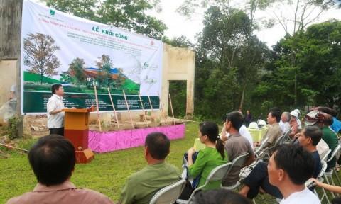 Khởi công công trình chào mừng Liên hoan KTS Trẻ toàn quốc lần thứ VII