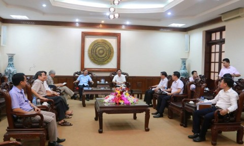 Chủ tịch Hội KTS Việt Nam kiểm tra công tác chuẩn bị Liên hoan KTS trẻ toàn quốc lần thứ VII