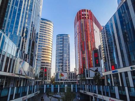 Công trình cao tầng mật độ cao cây mới tại khu vực trung tâm TP Bắc Kinh (Trung Quốc)