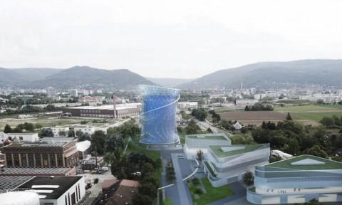 Tòa nhà năng lượng bền vững ở Heidelberg (Đức)