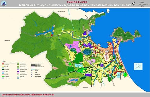 Điều chỉnh QHC TP Đà Nẵng năm 2030 tầm nhìn 2050