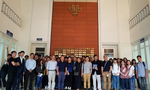 Giao lưu giữa Trường Đại học Chulalongkorn Thái Lan và Trường Đại học Kiến trúc Hà Nội