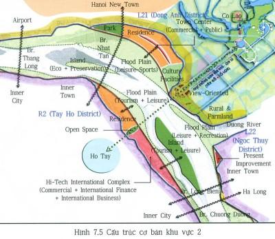 Quy hoạch chung xây dựng thủ đô Hà Nội đến năm 2030 tầm nhìn 2050